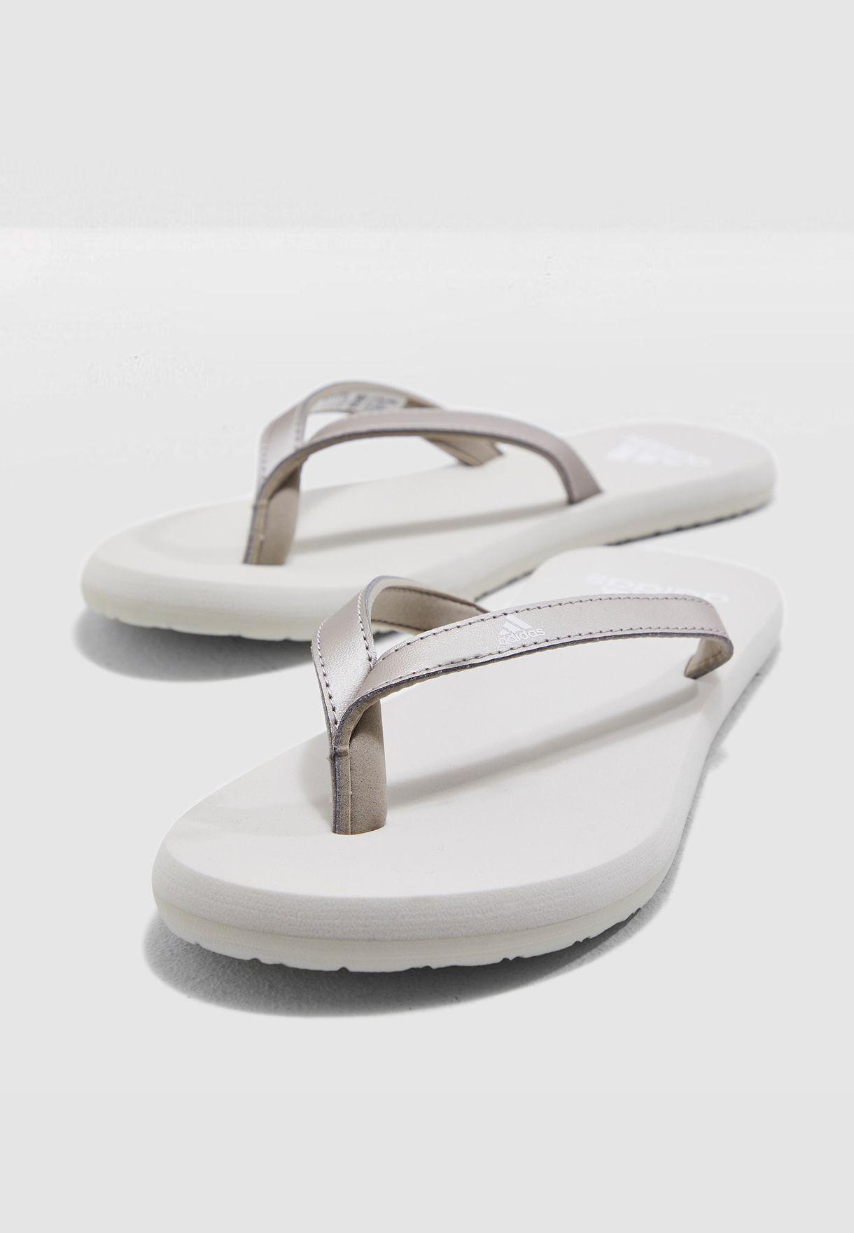 15e825364 Shop adidas grey Eezay Flip Flop F35034 for Women in UAE - 14448SH77VZP