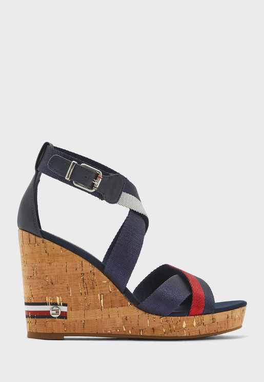 Corporate High Wedge Sandal