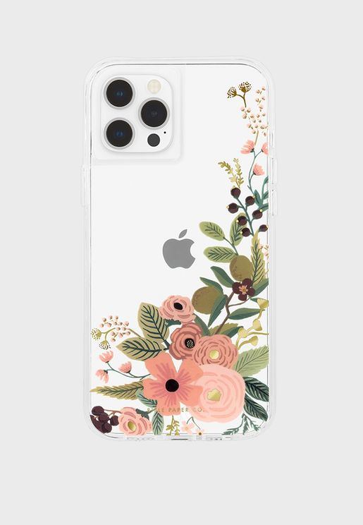 Garden Party Rose Micropel Iphone 12/12 Pro Case