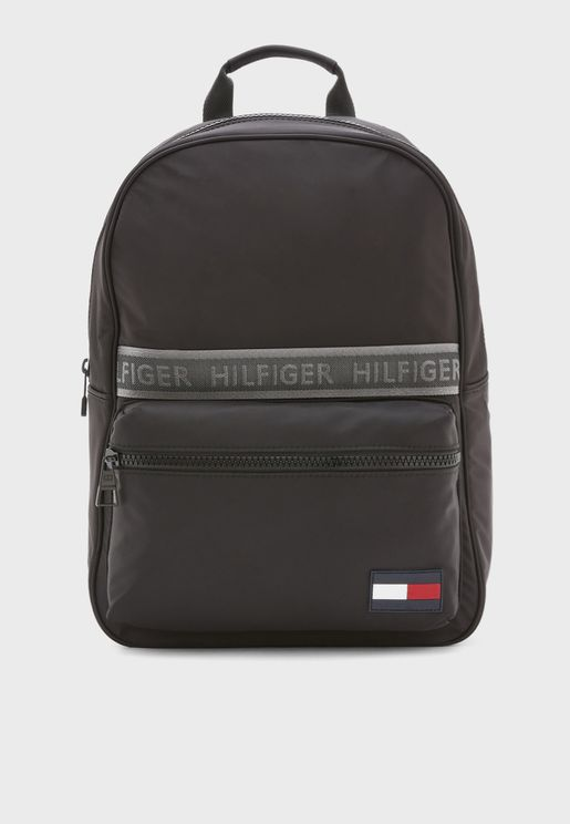 Logo Stripe  Backpack