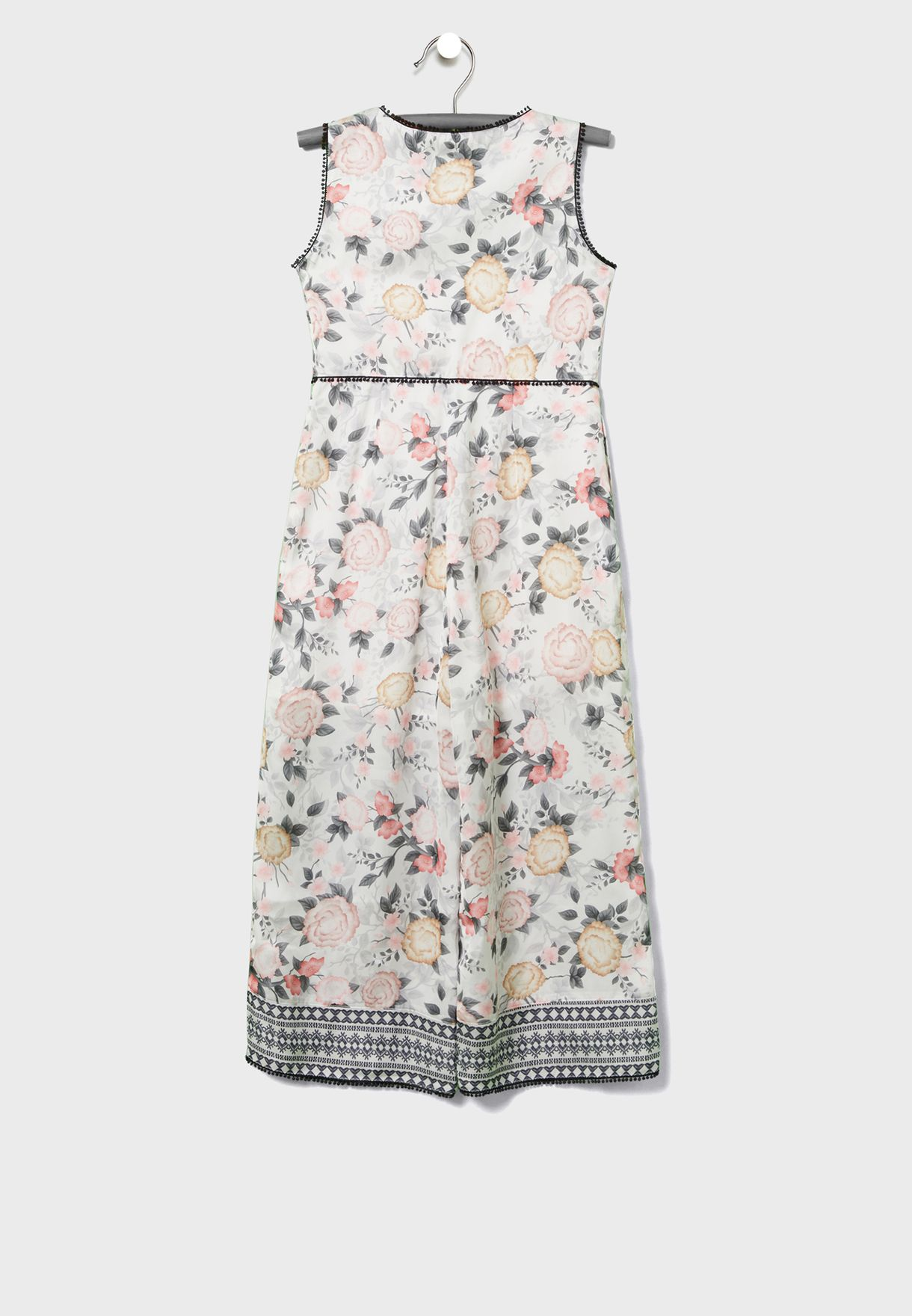Youth Floral Jumpsuit