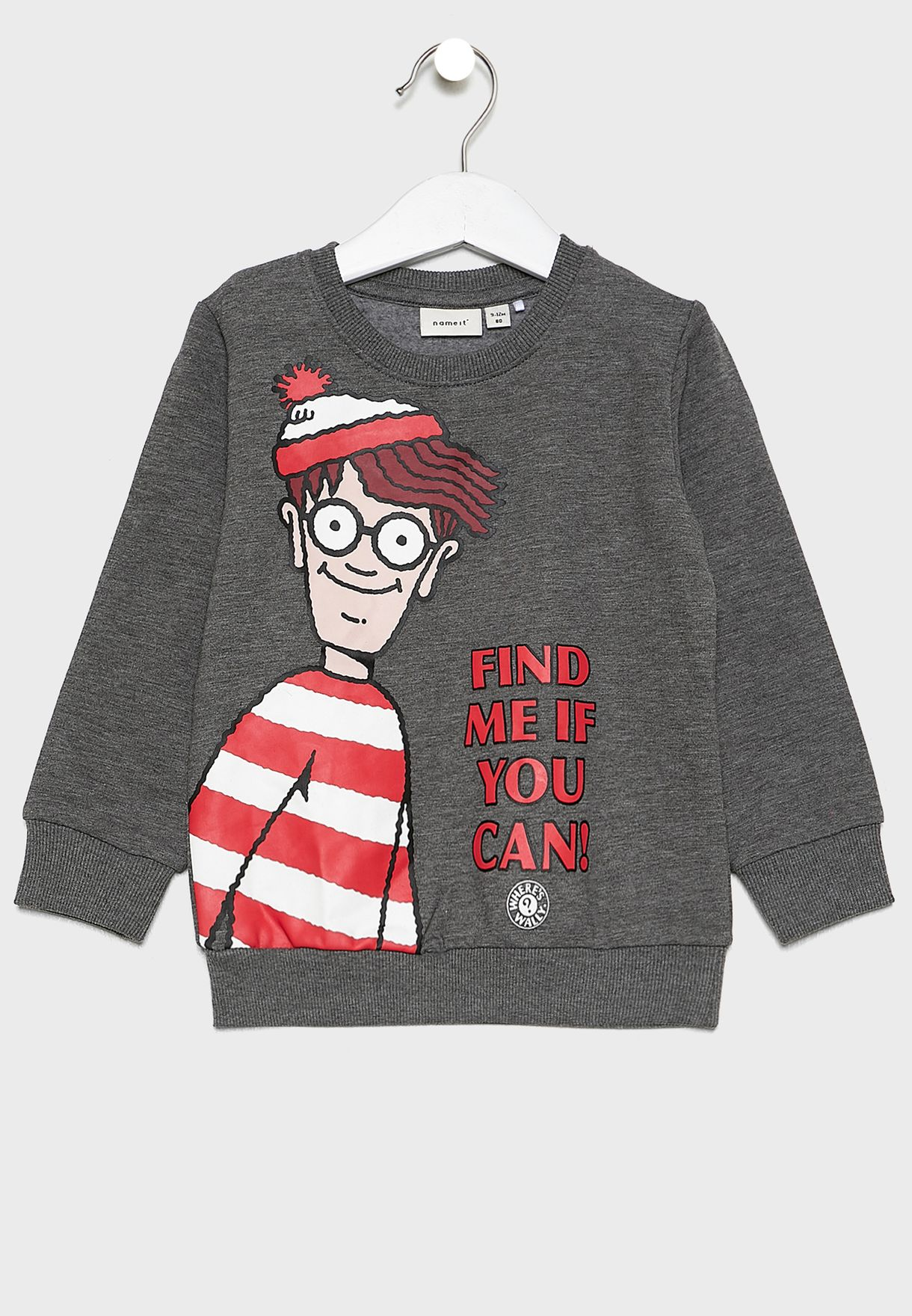 Kids Where's Wally Sweatshirt