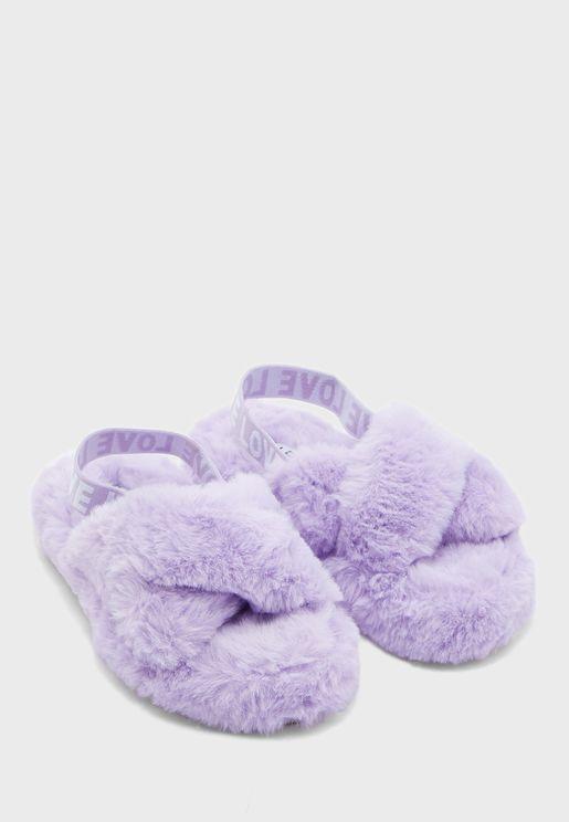 Umeven Flat Sandals