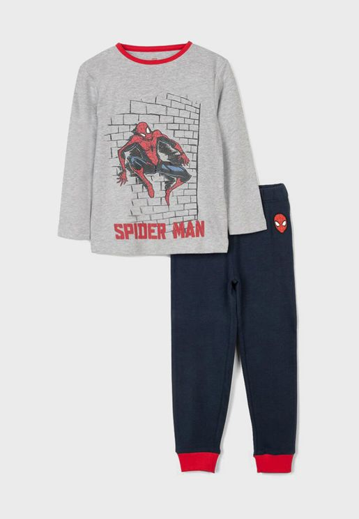 Kids Spiderman Pyjama Set
