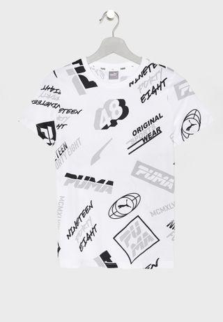 778a09a9 Shop Polo Ralph Lauren white Kids Logo T-Shirt 3.24E+11 for Kids in ...