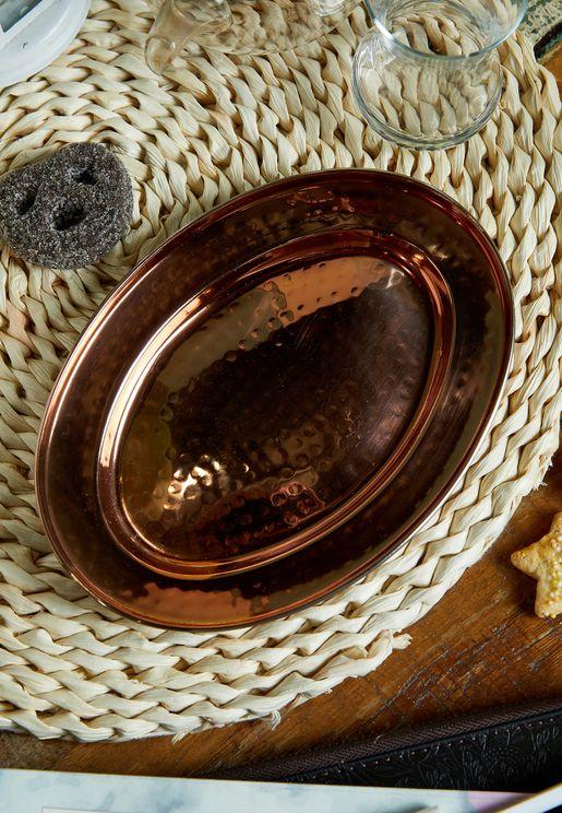 Small Rose Gold Serving Platter