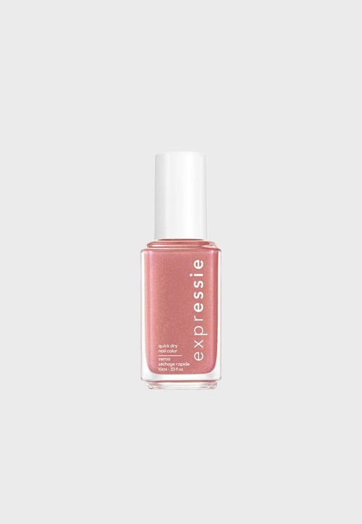 Quick Dry Nail Polish - Checked In