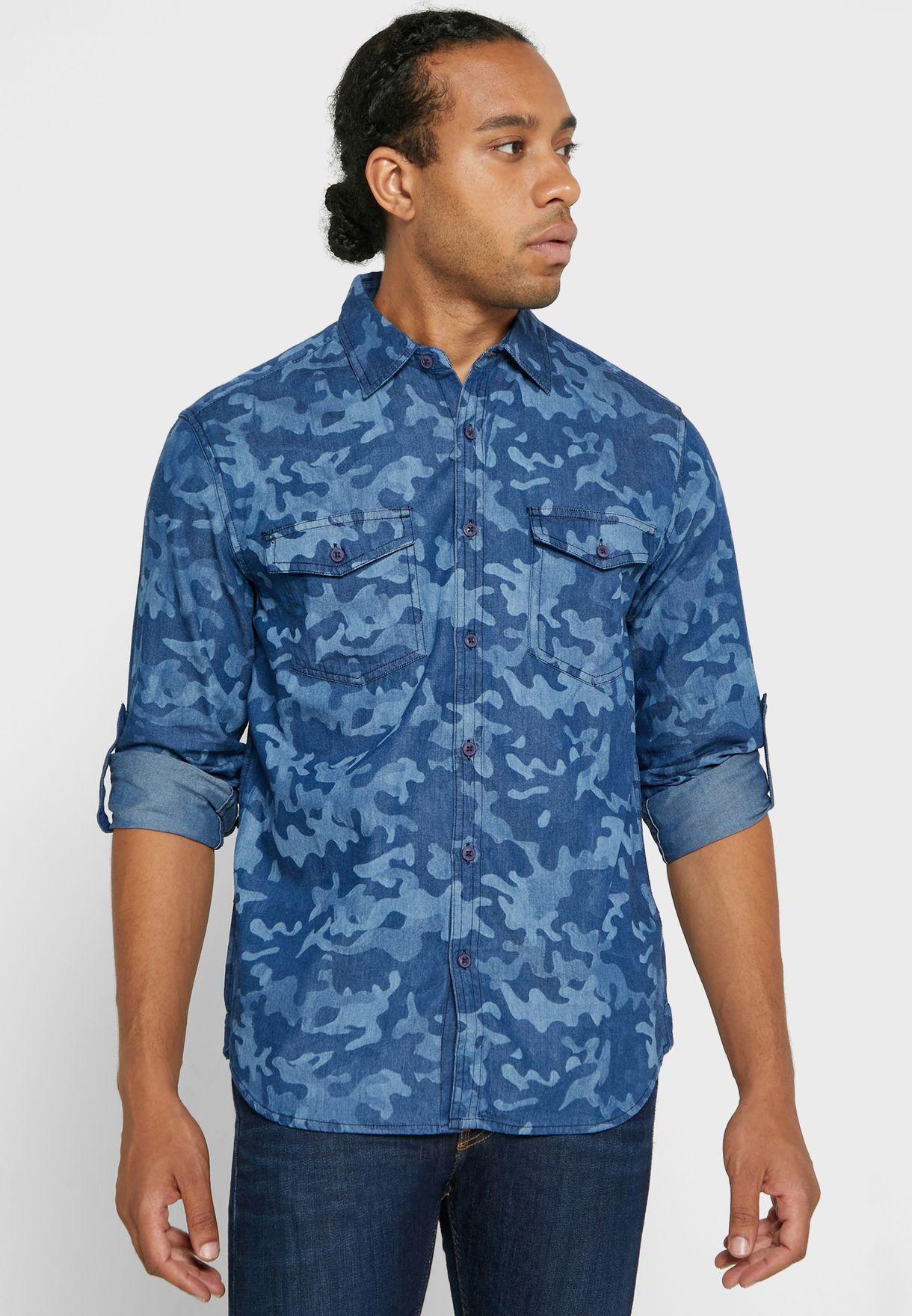 Camo Wash Shirt