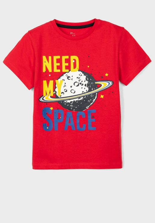 Kids Need My Space T-Shirt