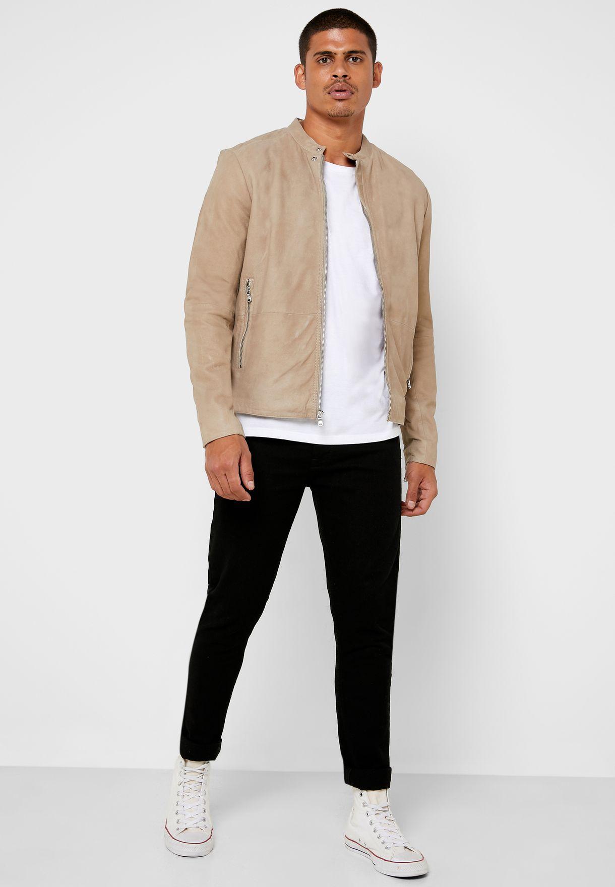 John Varvatos Hayden Biker Jacket - Fashion