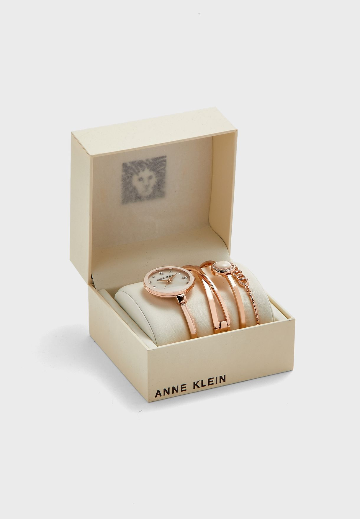 AK3402BHST Watch And Bracelet Gift Set