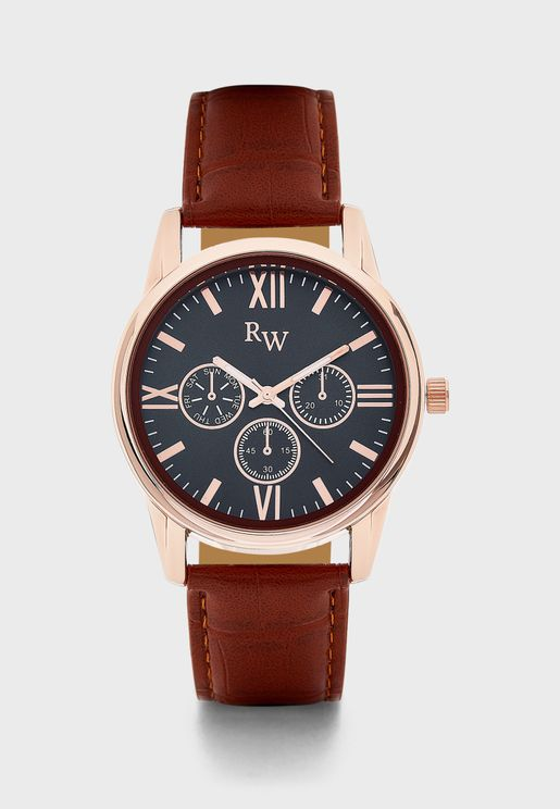 Analogue Watch with Subs
