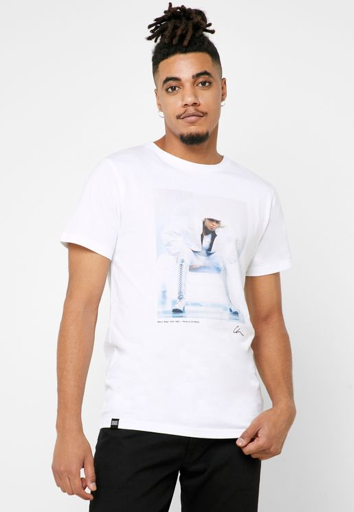 Stockholm Mary J Blige Crew Neck T-Shirt