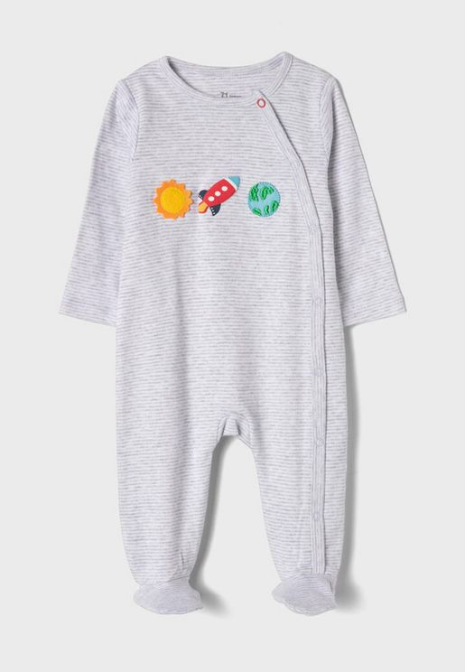 Infant Cross Over Romper