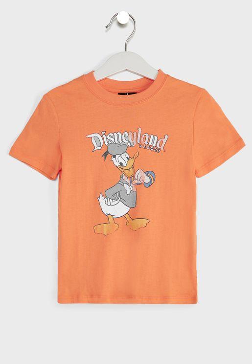 Kids Vintage Donald Duck T-Shirt