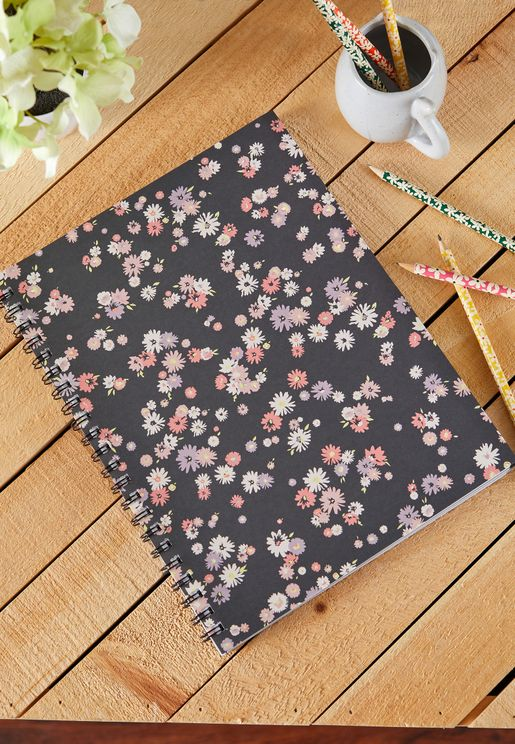 A4 Dolly Daisy Campus Notebook