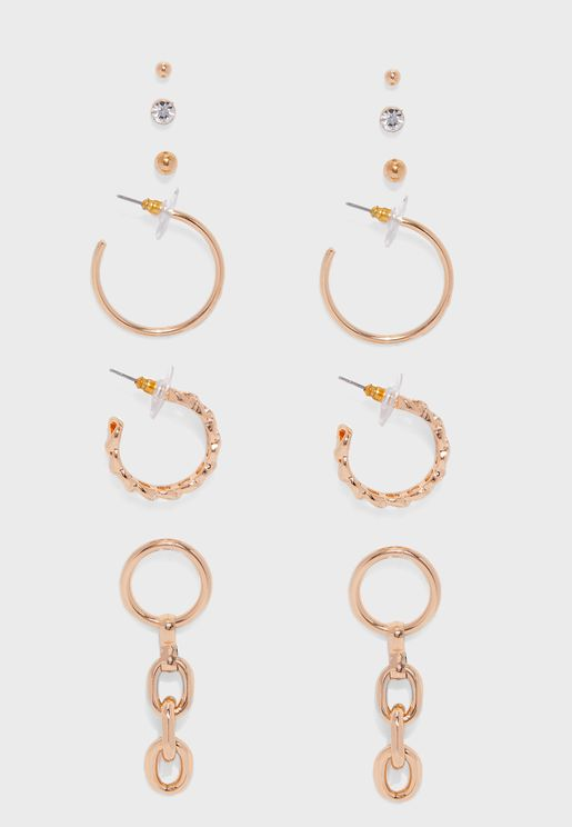 Multipack Barska Earrings