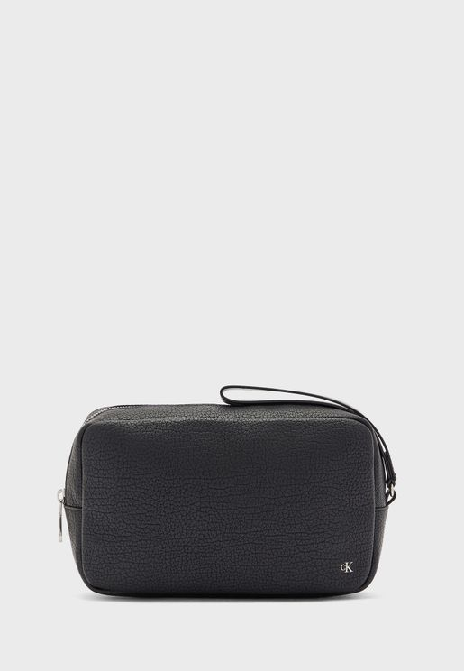Zip Around With Loop Wash Bag