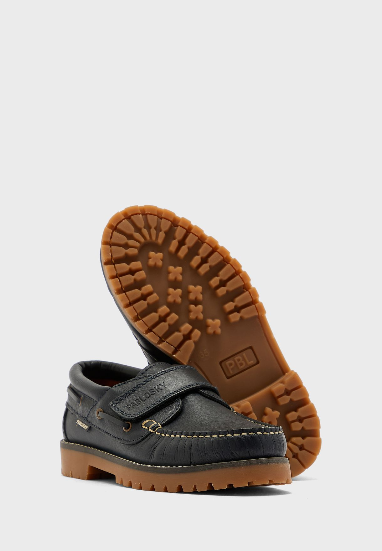 Youth Velcro Strap Boat Boot