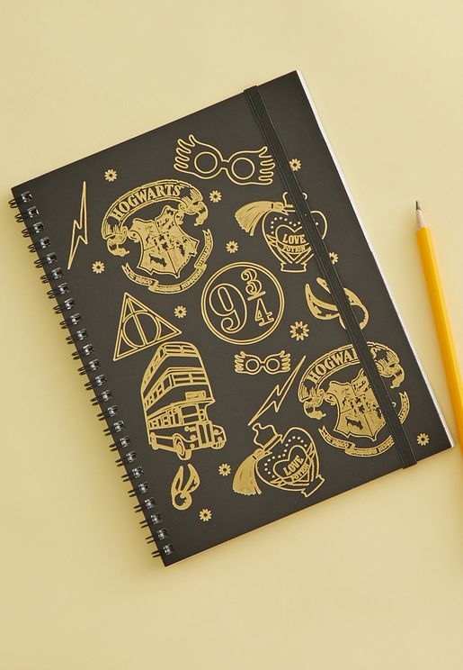Harry Potter Patches A5 Spinout Notebook
