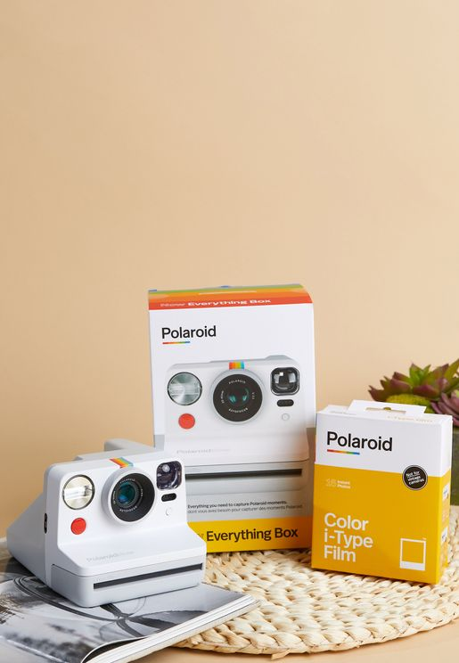 Polaroid Now I-Type Instant Camera Everything Box