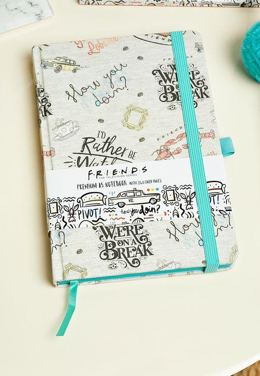 Friends Marl Notebook
