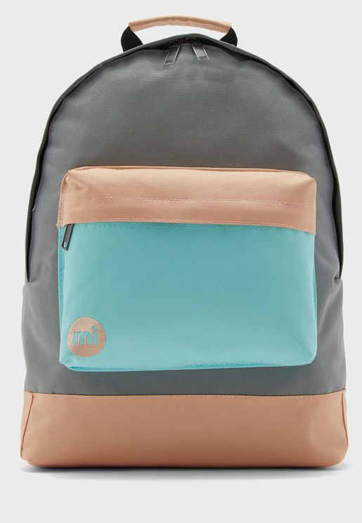 Classic Colour Block Backpack