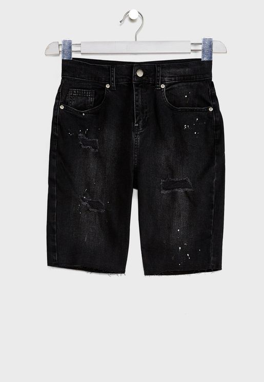 Kids Bandana Shorts