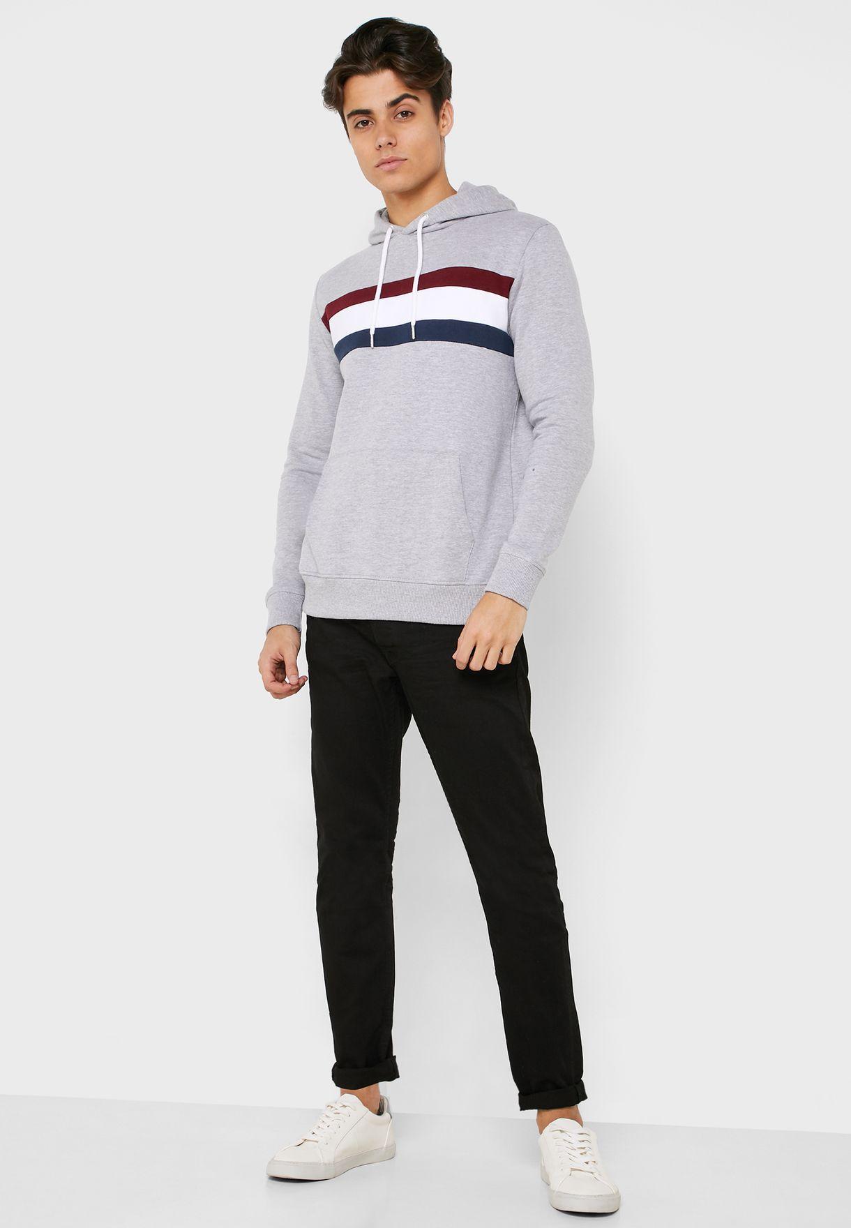 Burton Chest Stripe Hoodie