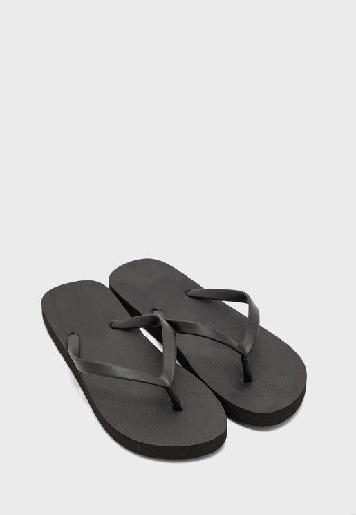 Ladies Plain  Flip Flop