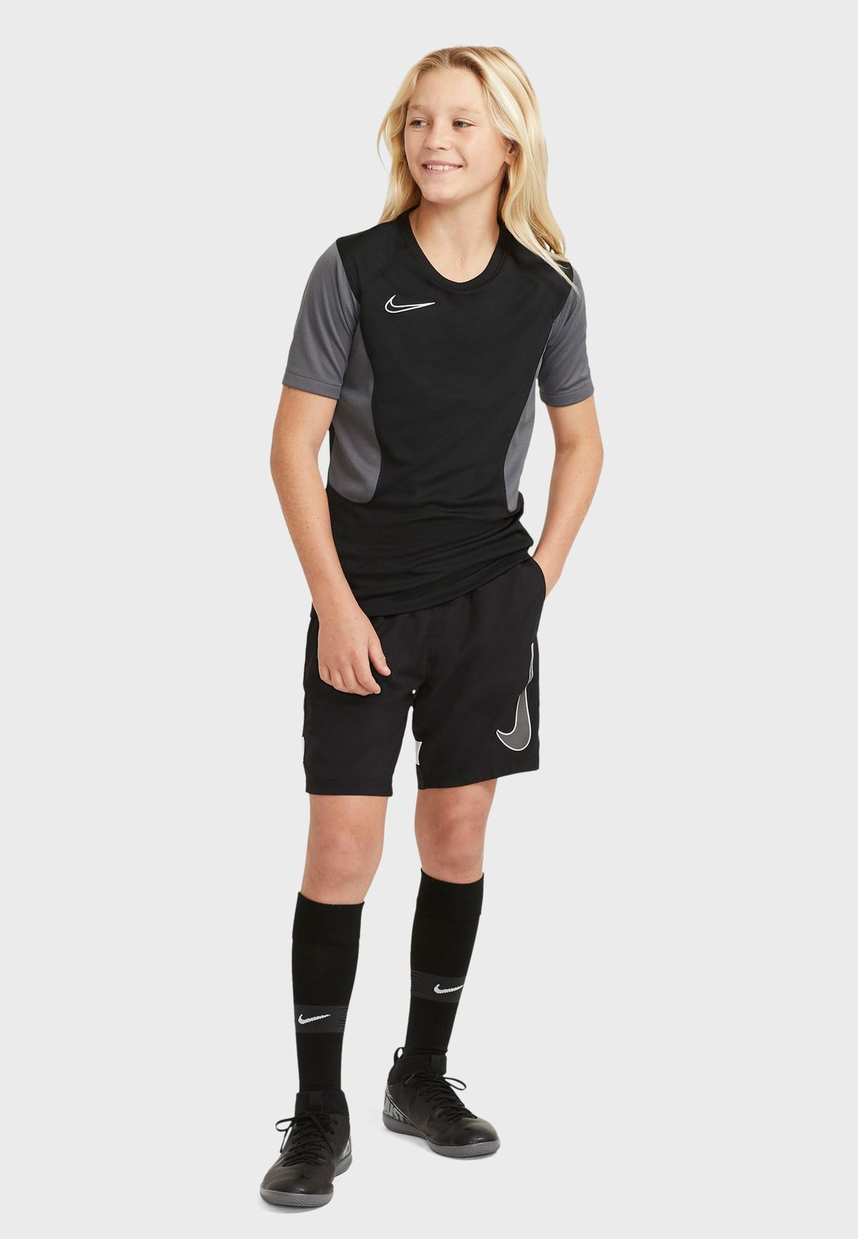 Youth Dri-FIT Academy Graphic Shorts