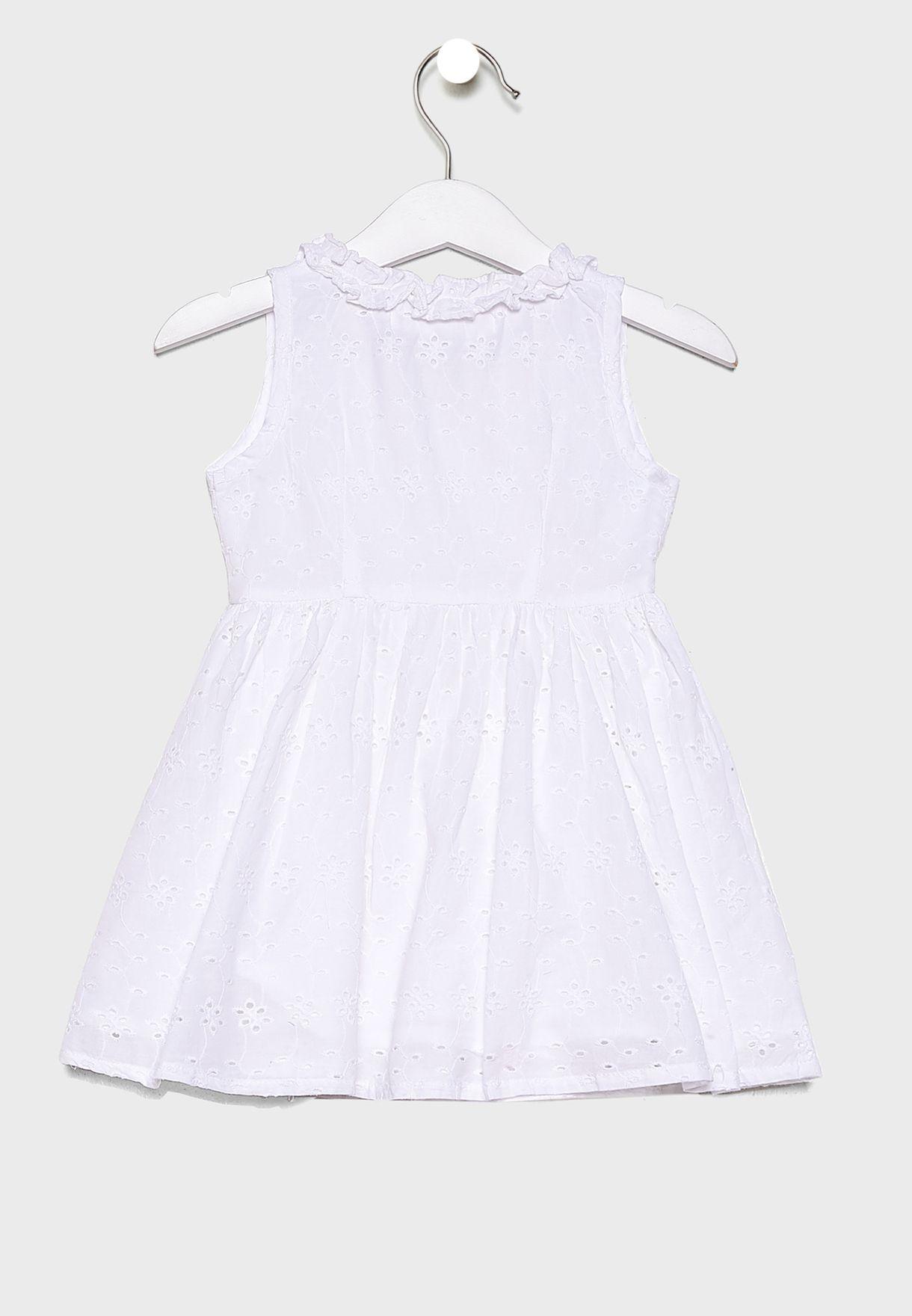 فستان بكشكش للبيبي