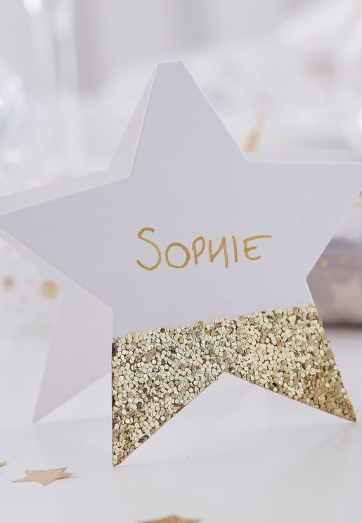 Star Shaped Place Cards