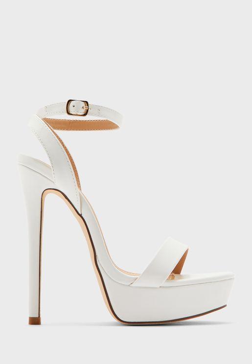 Ankle Strap Platform Stiletto Sandal