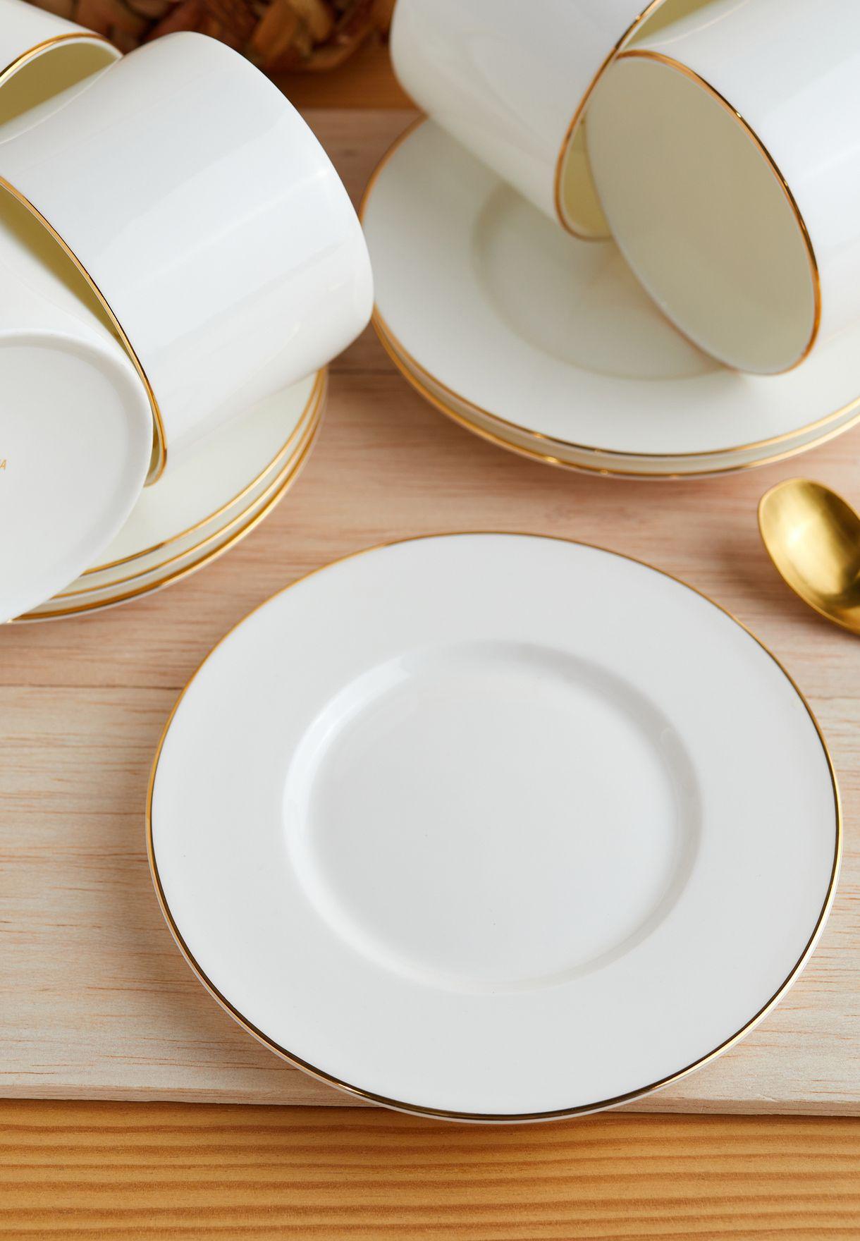 White Ceramic Tea Set