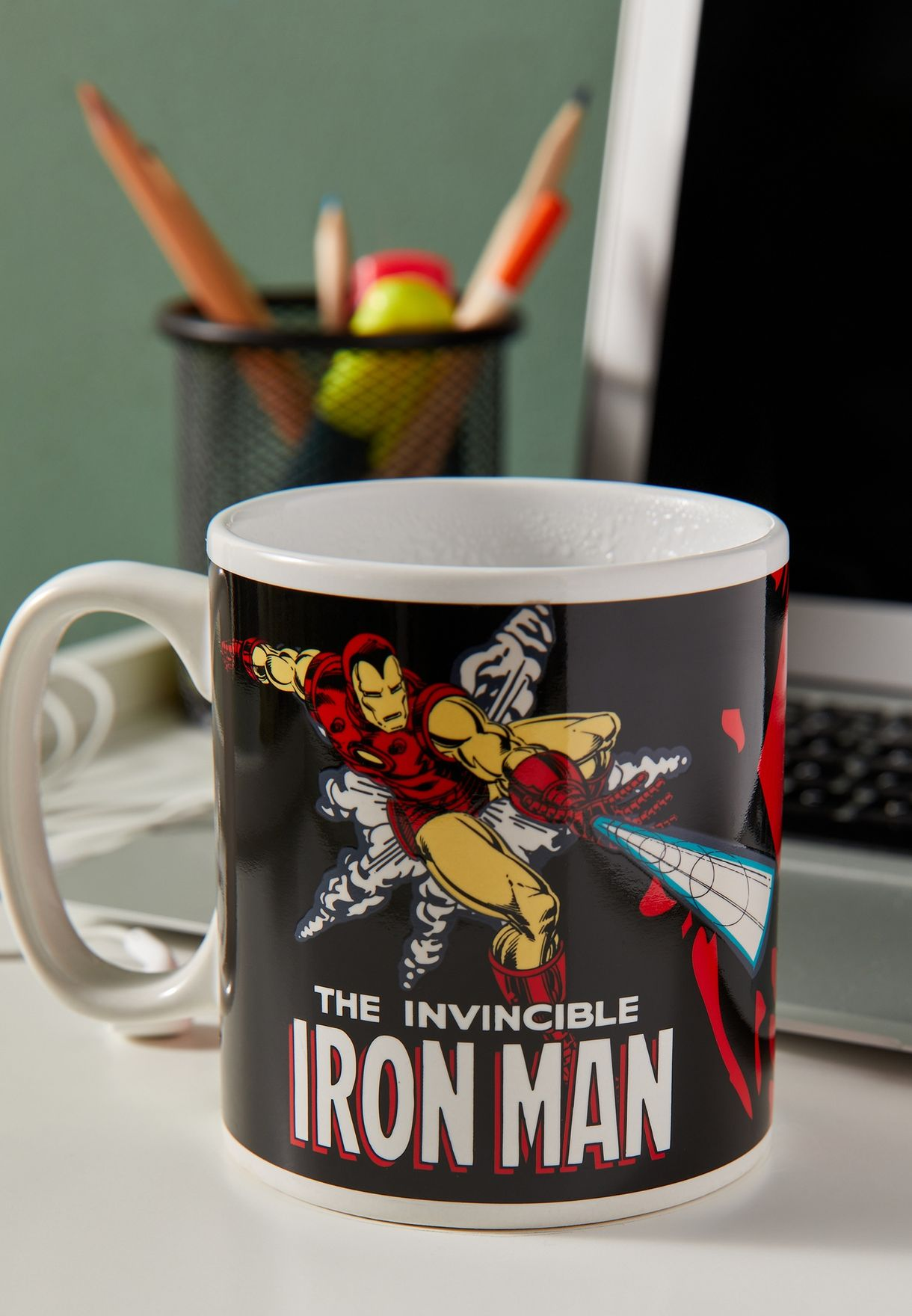 Marvel Iron Man Heat Changing Mug