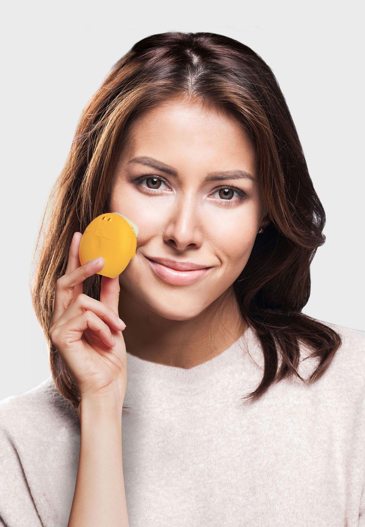 فرشاة لونا فوفو لتنظيف الوجه - صن فلاور