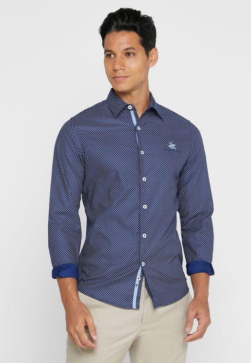 Mini Check Regular Fit Shirt