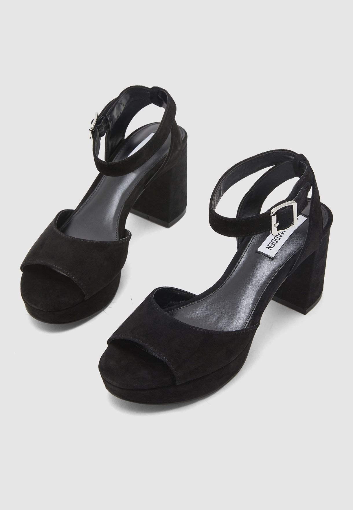 Haven Ankle Strap Sandal - Black
