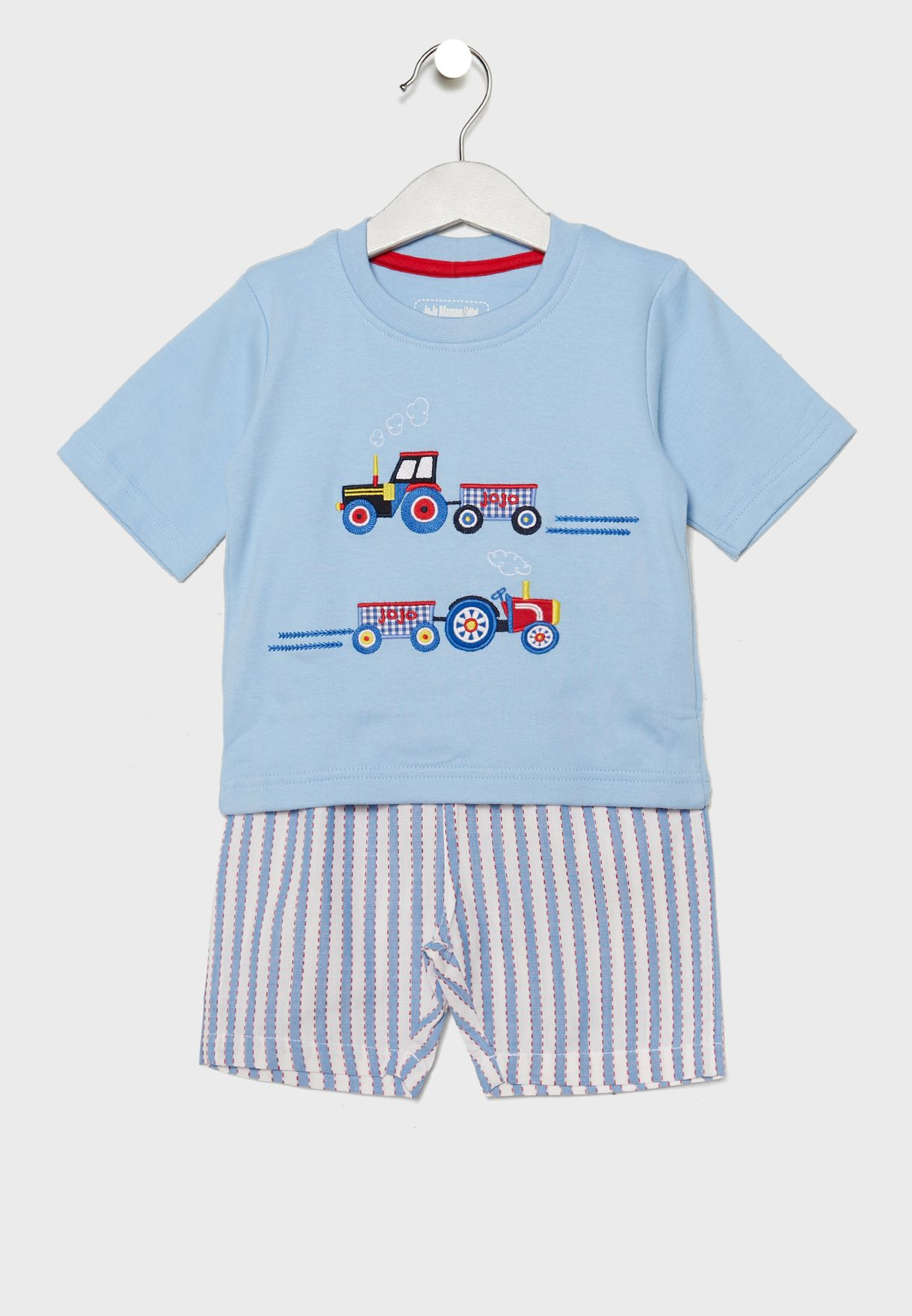 Kids Tractor Graphic Pyjama Set