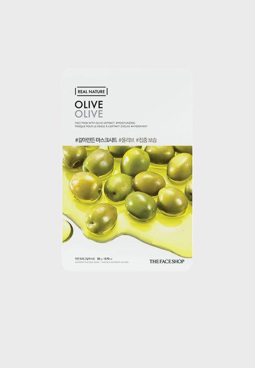 Real Nature Mask Sheet - Olive