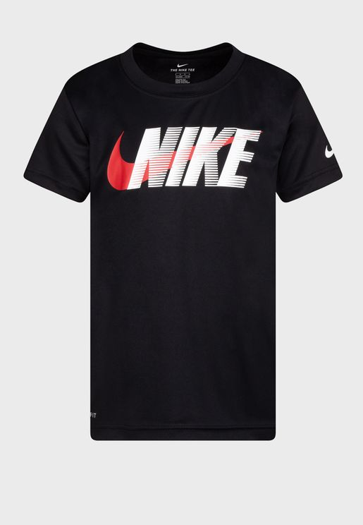 Kids Swoosh Block T-Shirt