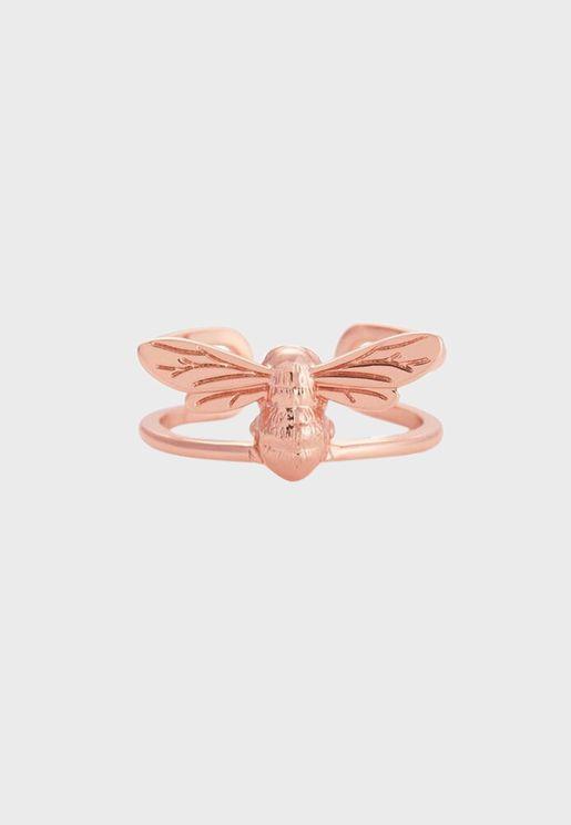 OBJAMR72 Lucky Bee Ring