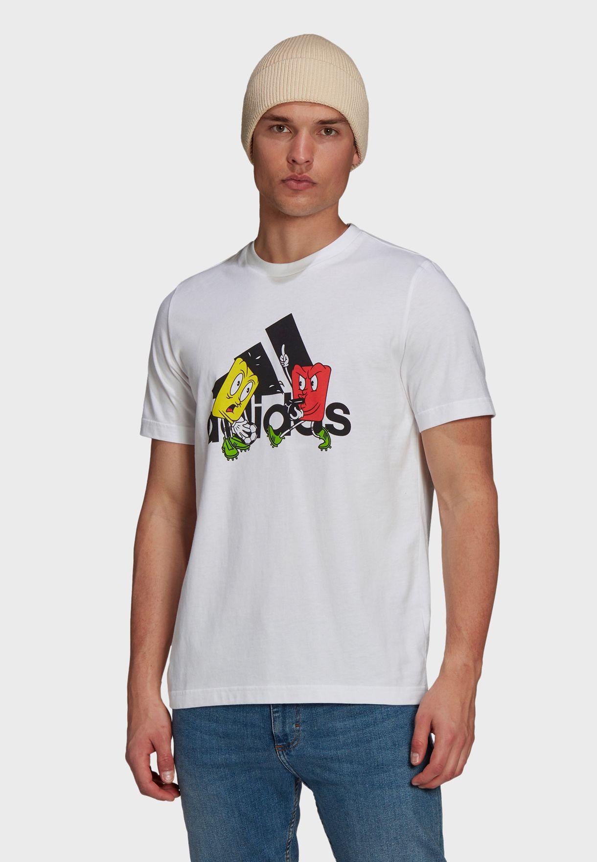 Mascot Badge Of Sport T-Shirt