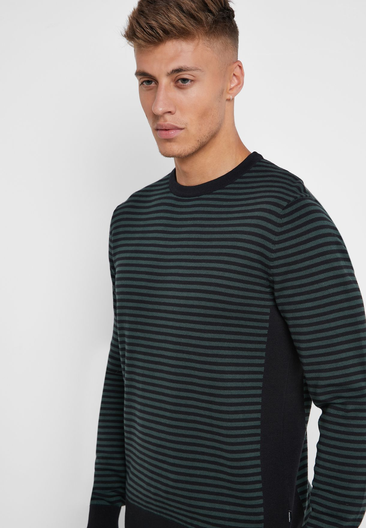 Raw Knitted Sweater