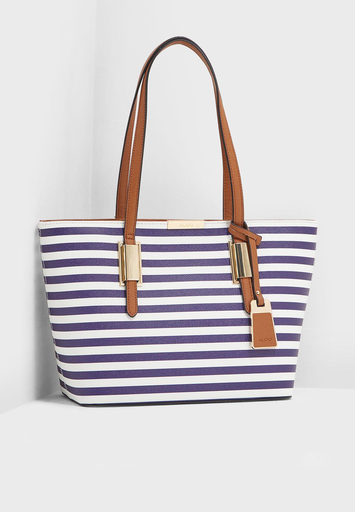 3a56f558c45 Shop Aldo stripes Debonis Tote AFADOLLAA1 for Women in UAE ...