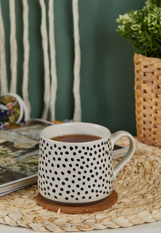 Dot Printed Ceramic Mug
