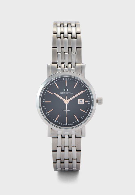 Steel Strap Analog Watch