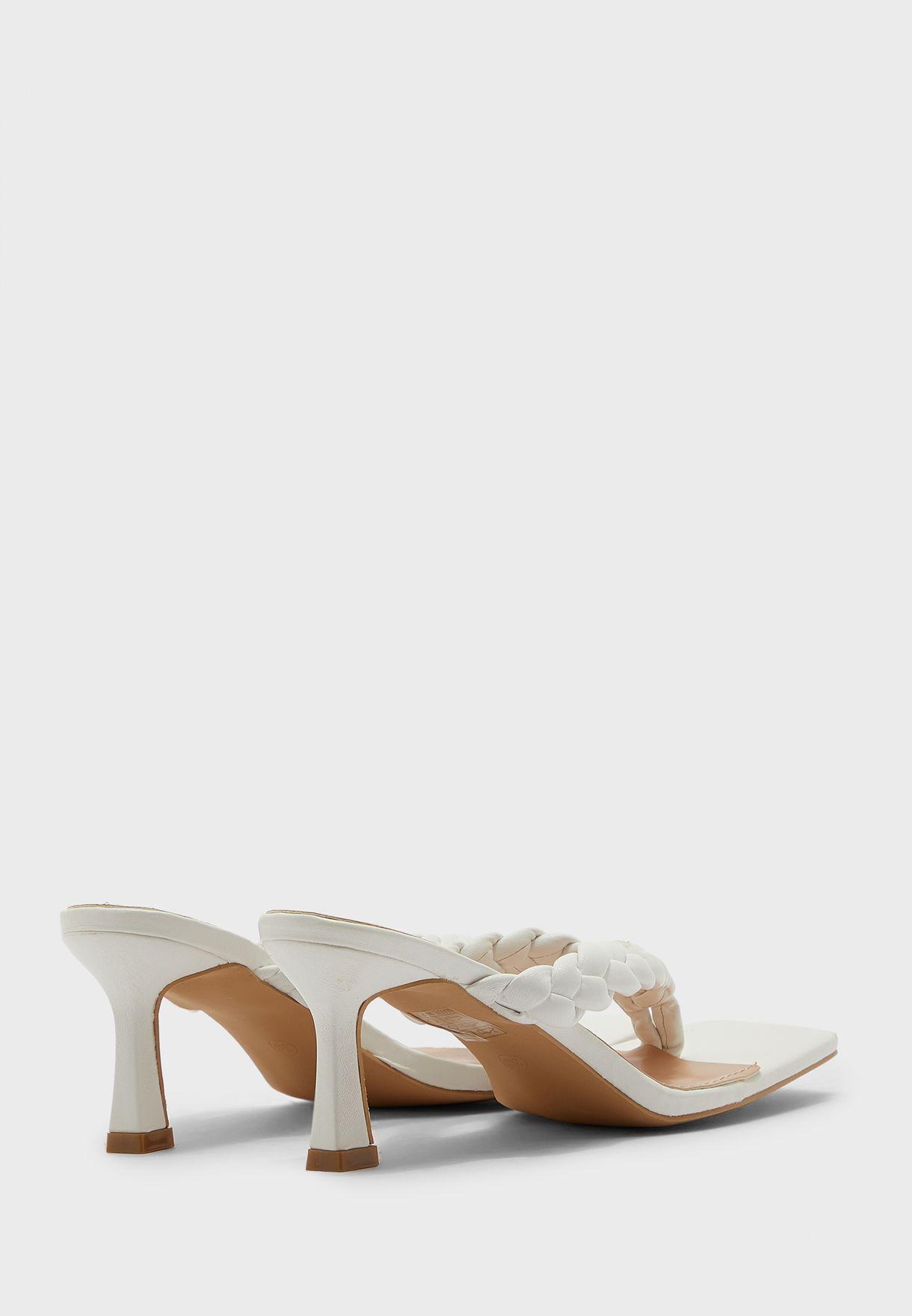 Plaited Toe Post Sandal