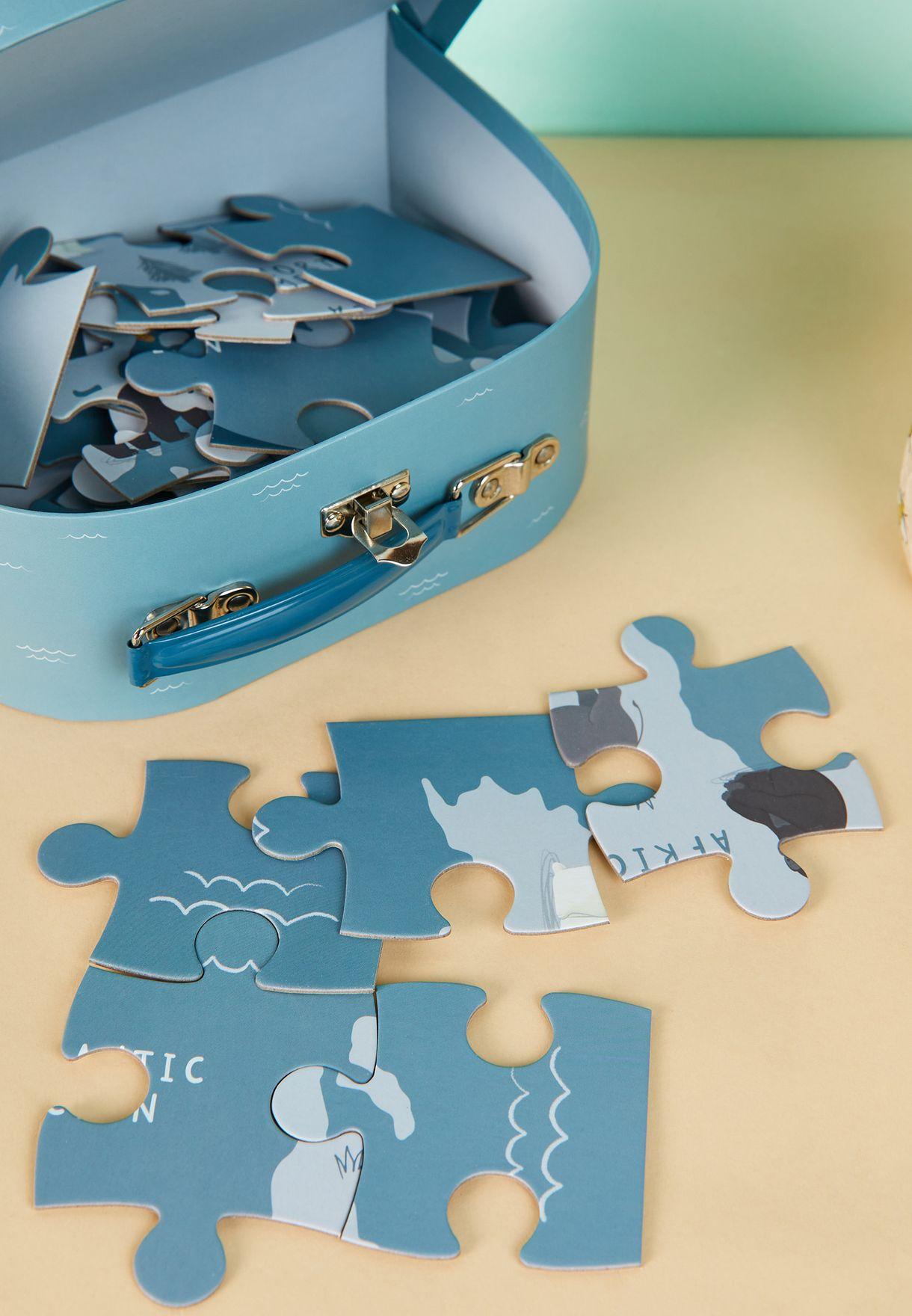 Endangered Animals Puzzle